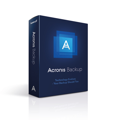 Acronis Backup - kopia zapasowa bez limitu urządzeń - 100 GB